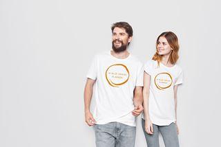 """T-shirt """"Ik blijf graag plakken"""" maat 3-4 jaar"""